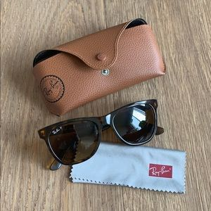 Ray-Ban tortoise Square/Highstreet polarized